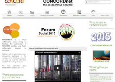 CONCORDnet, European Confederation of Development NGOs Collaborative Network